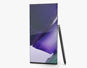 Samsung Galaxy Note20 Ultra Mystic Black 3D model