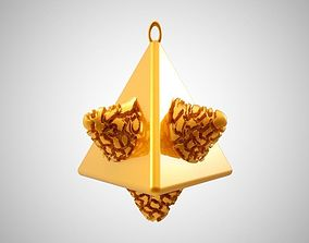 Tetrahedral Necklace 3D print model