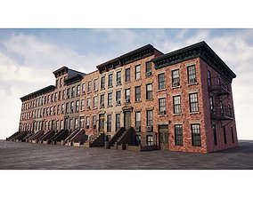 3D asset Generic Buildings New York 2