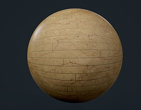 Marble Tile Seamless PBR Texture 3D model unreal