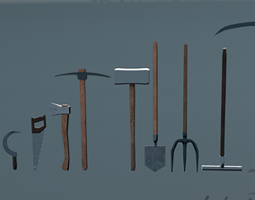 3D asset Work Tools 12 items