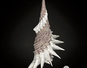Martian Shell Tusk 3D Model fractal