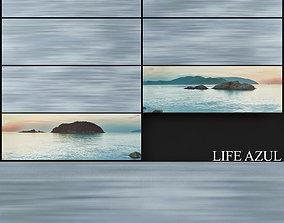 Keros Life Azul And Azor 3D