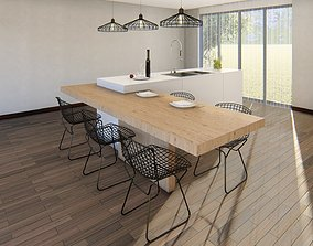 3dnikmodels kitchen Counter 12