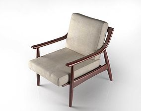 wood 3D Adam Chair