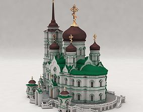 3D print model Annunciation Cathedral Voronezh