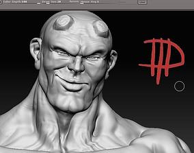 3D model hellboy statham