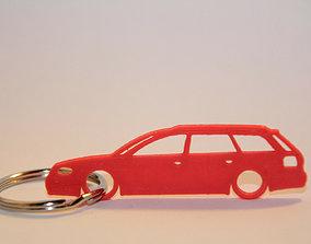 3D print model Audi A6 RS6 Keychain