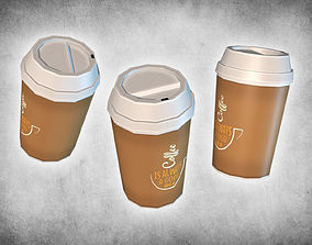 3D model Coffee Take Away