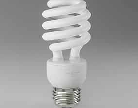 Fluorescent Lamp electronics 3D