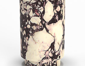 Marble stool Michael Verheyden 3D