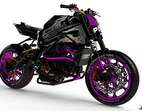 3D print model PINKI sportbike