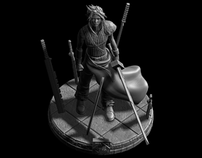 3D printable model Cloud Strife Realisctic - Final 3