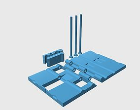 useful 3D printable model Phone holder