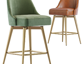 West Elm-Counter Stool 3D model