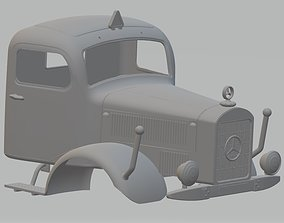 Mercedes Benz L5000 Printable Cabin Truck
