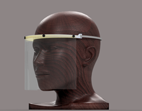 3D print model Firm screw faceshield heavy duty