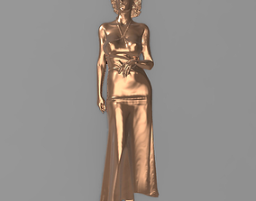 3D printable model Beautiful woman Bas relief for CNC