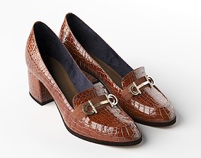 Stirrup Heeled Loafers 3D stirrup
