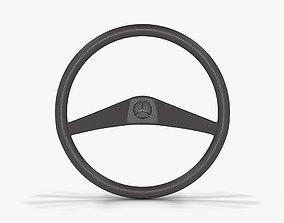 3D model Mercedes-Benz MB 100 Steering Wheel