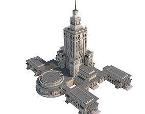 Monumental Skyscraper 3D model