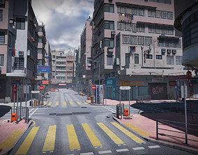 Hong Kong Street 3D model