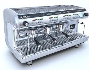 3D Cimbali M39 coffee machine