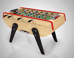 3D Table Football game - Babyfoot -