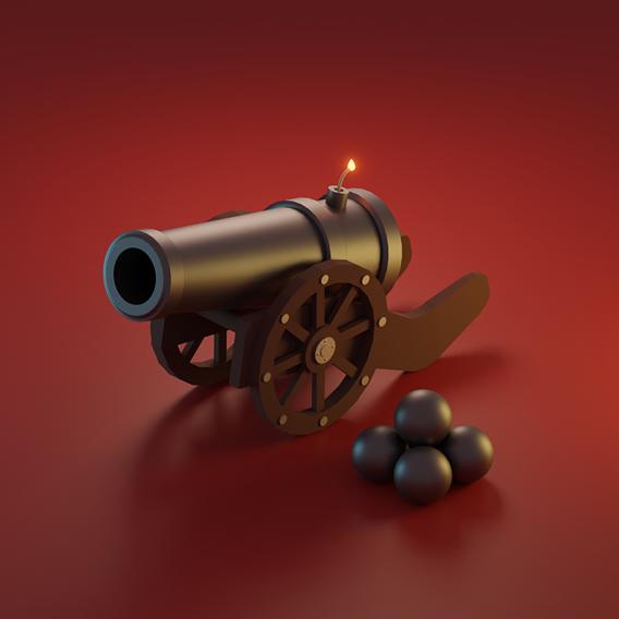 Cartoon Cannon