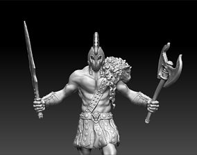 Avatar of War Figurine 3D print model