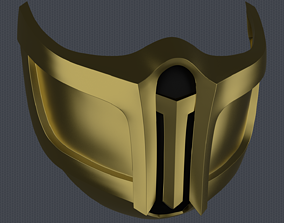 3D printable model MK11 Scorpion Mask V3 - STL File
