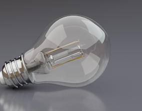 Led Light Bulb 3D lighting