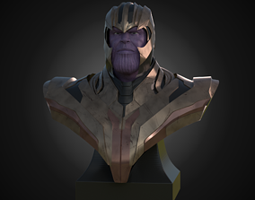 Bust of Thanos games 3D print model