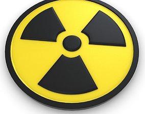 Radioactive Symbol 3D model