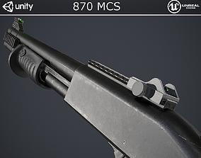 870 MCS Shotgun 3D model