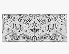 interior Celtic Ornament 3D model