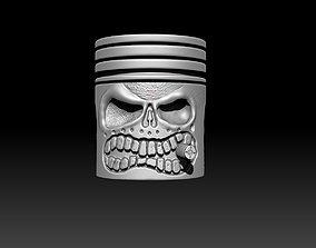 3D print model Piston Skull