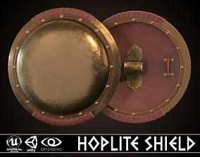 Hoplite Shield 3D asset