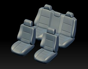 car interior 1 3D print model