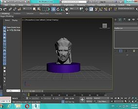 Arabian Head figure for 3D print