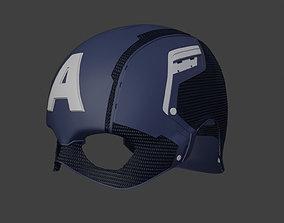 Captain America Helmet from Civil War 3D printable model