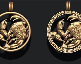 3D print model zodiac Scorpion