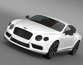 3D model Bentley Continental GT V8 S Coupe 2014