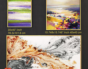 3D model Abstract Painting 003