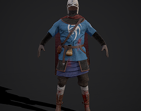 Medieval Guard Clothing 3D model