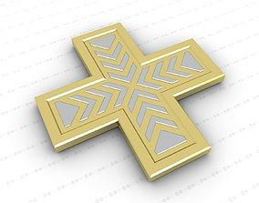religious Cross 3D model game-ready