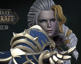 3D printable model Jaina Proudmoore - World of Warcraft