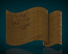 3D print model china China Flag