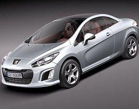 3D Peugeot 308 CC 2012
