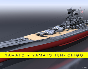 3D model BATTLESHIP YAMATO BUNDLE